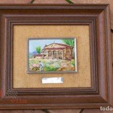 Varios objetos de Arte: ESMALTE AL FUEGO - CASA TARRADELLAS - VIC - DE J. FONT - 1983. Lote 63155748