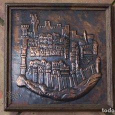 Varios objetos de Arte: RELIEVE CIUDAD DENTRO DE LA MURALLA. Lote 65009923