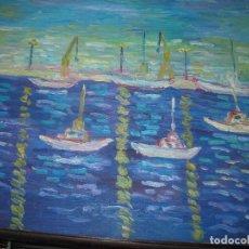 Varios objetos de Arte: ANTIGUA PINTURA IMPRESIONISTA PROCEDE DE ALICANTE OLEO . Lote 65016463