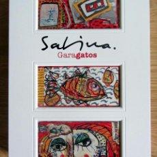 Varios objetos de Arte: CUADRO CAJA DEL LIBRO JOAQUIN SABINA GARAGATOS ARTIKA. Lote 199058253