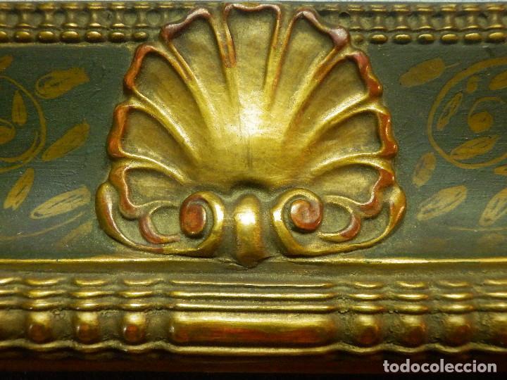 Varios objetos de Arte: Muy antiguo Oleo Sobre Tabla - Dama de aspecto Luis XV o similar - Marco precioso - Excelente estado - Foto 16 - 65890270