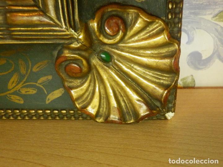 Varios objetos de Arte: Muy antiguo Oleo Sobre Tabla - Dama de aspecto Luis XV o similar - Marco precioso - Excelente estado - Foto 20 - 65890270