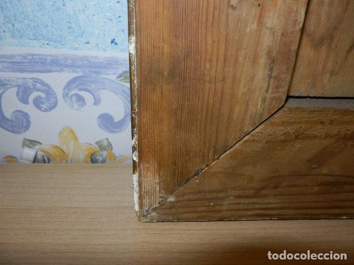 Varios objetos de Arte: Muy antiguo Oleo Sobre Tabla - Dama de aspecto Luis XV o similar - Marco precioso - Excelente estado - Foto 31 - 65890270