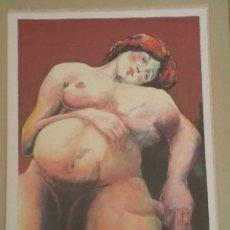 Varios objetos de Arte: ANDRÉS BARAJAS - GINECOLOGÍA - NUMERADA, FIRMADA Y CERTIFICADA - 176 / 1000. Lote 67117881