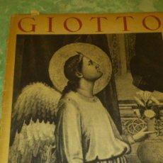 Varios objetos de Arte: GIOTTO,LES DOCUMENTS ATHENAEUM PHOTOGRAPHIQUES,1942,CON 43 ILUSTRACIONES EN BLANCO Y NEGRO.. Lote 67531137