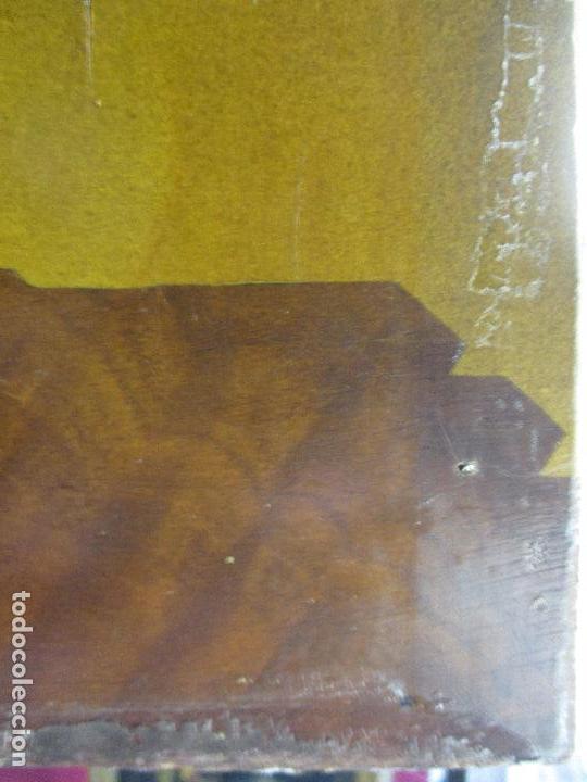 Varios objetos de Arte: Espectacular Panel - Plafón - Marquetería - Diferentes Maderas y Raíces -Paisaje -Castillo, Puente - Foto 24 - 68232597