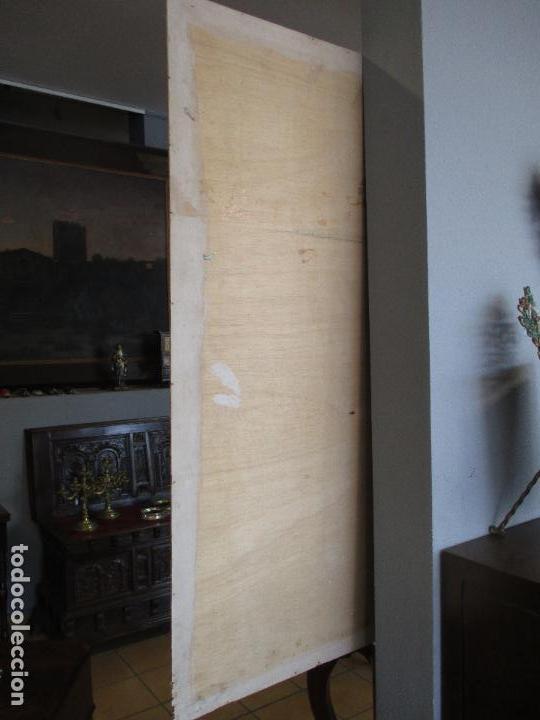 Varios objetos de Arte: Espectacular Panel - Plafón - Marquetería - Diferentes Maderas y Raíces -Paisaje -Castillo, Puente - Foto 26 - 68232597