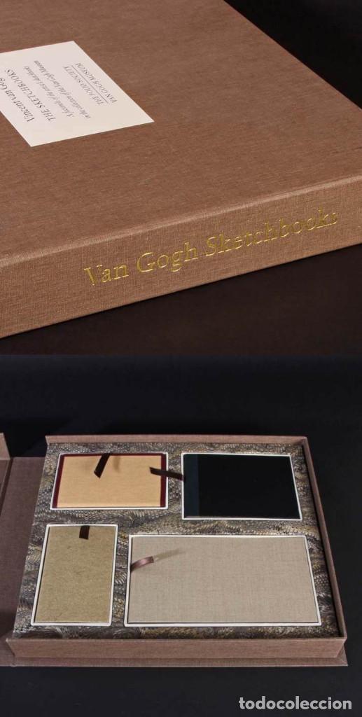 VINCENT VAN GOGH: SKETCHBOOKS / LIBRO DE ARTISTA / LONDRES, THE FOLIO SOCIETY, 2013 (Arte - Varios Objetos de Arte)