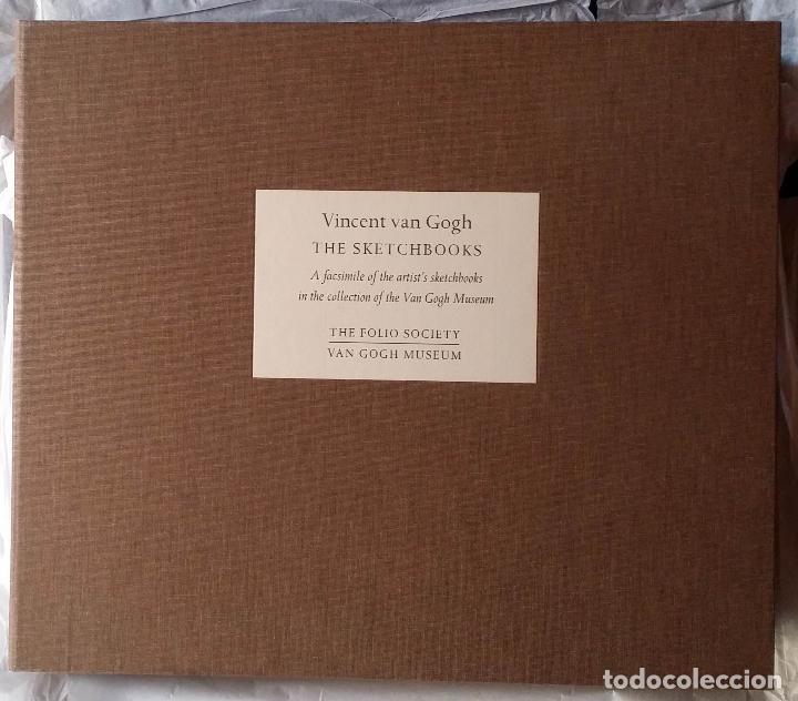 Varios objetos de Arte: VINCENT VAN GOGH: SKETCHBOOKS / Libro de artista / Londres, The Folio Society, 2013 - Foto 2 - 68250261