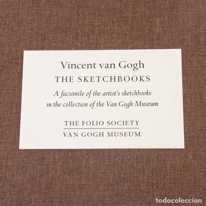 Varios objetos de Arte: VINCENT VAN GOGH: SKETCHBOOKS / Libro de artista / Londres, The Folio Society, 2013 - Foto 4 - 68250261