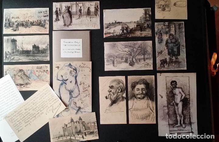 Varios objetos de Arte: VINCENT VAN GOGH: SKETCHBOOKS / Libro de artista / Londres, The Folio Society, 2013 - Foto 7 - 68250261