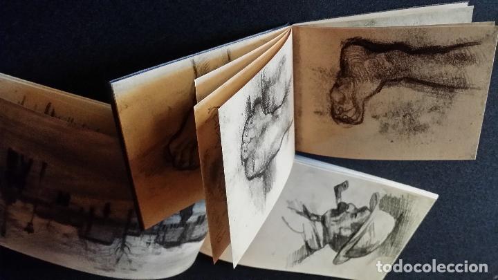 Varios objetos de Arte: VINCENT VAN GOGH: SKETCHBOOKS / Libro de artista / Londres, The Folio Society, 2013 - Foto 8 - 68250261