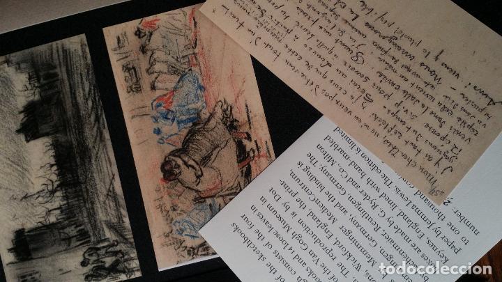 Varios objetos de Arte: VINCENT VAN GOGH: SKETCHBOOKS / Libro de artista / Londres, The Folio Society, 2013 - Foto 9 - 68250261