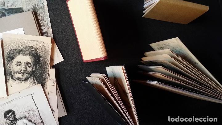 Varios objetos de Arte: VINCENT VAN GOGH: SKETCHBOOKS / Libro de artista / Londres, The Folio Society, 2013 - Foto 15 - 68250261