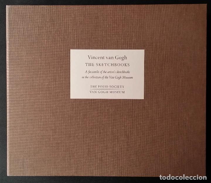 Varios objetos de Arte: VINCENT VAN GOGH: SKETCHBOOKS / Libro de artista / Londres, The Folio Society, 2013 - Foto 17 - 68250261
