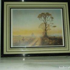 Varios objetos de Arte: LOTE DE TRES CUADROS. Lote 68550733