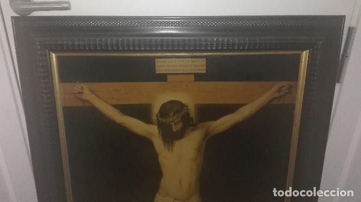 Varios objetos de Arte: cuadro antiguo crucificado de Velázquez - Foto 2 - 68575657