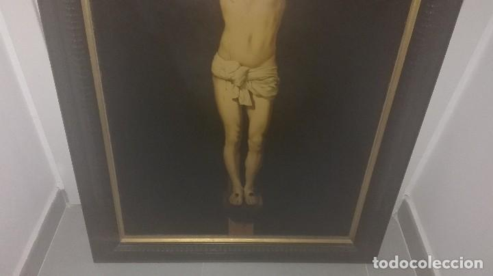 Varios objetos de Arte: cuadro antiguo crucificado de Velázquez - Foto 3 - 68575657