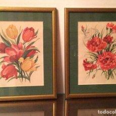 Varios objetos de Arte: FLORES. Lote 69800253
