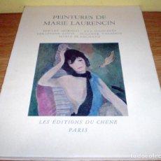 Varios objetos de Arte: PEINTURES DE MARIE LAURENCIN- BERTHE MORISOT-EVA GONZALES-SÉRAPHINE LOUIS-SUZANNE VALADON-MARÍA BLA . Lote 71085913