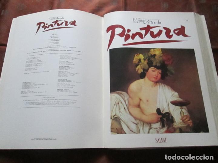 LOTE DE MÁS DE 60 PORTADAS-EL GRAN ARTE DE LA PINTURA-SALVAT-VER FOTOS+DESCRIPCIÓN. (Arte - Varios Objetos de Arte)
