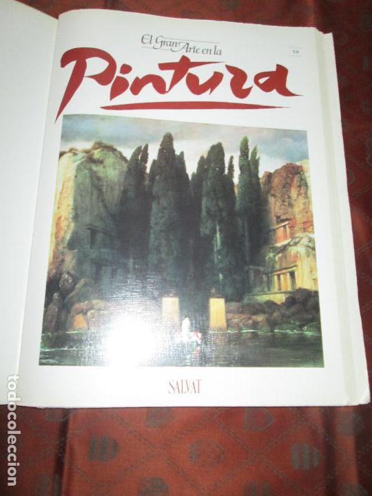 Varios objetos de Arte: lote de más de 60 portadas-el gran arte de la pintura-salvat-ver fotos+descripción. - Foto 4 - 71117669