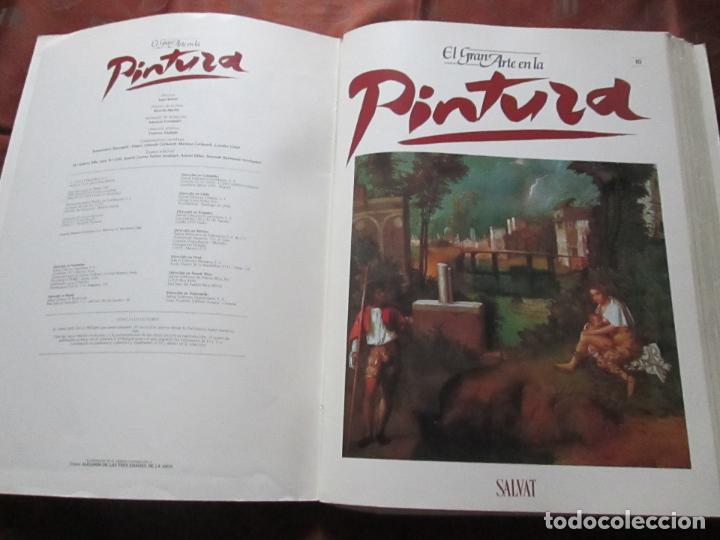 Varios objetos de Arte: lote de más de 60 portadas-el gran arte de la pintura-salvat-ver fotos+descripción. - Foto 8 - 71117669