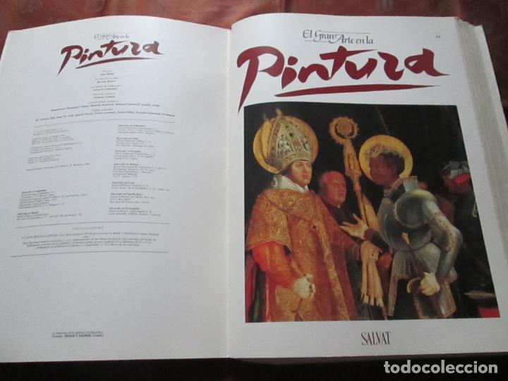Varios objetos de Arte: lote de más de 60 portadas-el gran arte de la pintura-salvat-ver fotos+descripción. - Foto 12 - 71117669