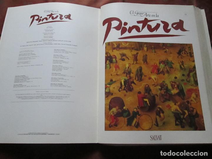 Varios objetos de Arte: lote de más de 60 portadas-el gran arte de la pintura-salvat-ver fotos+descripción. - Foto 13 - 71117669