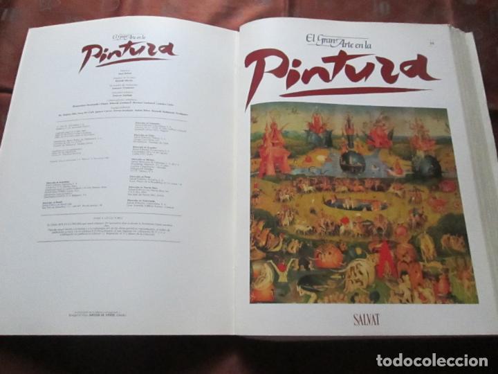 Varios objetos de Arte: lote de más de 60 portadas-el gran arte de la pintura-salvat-ver fotos+descripción. - Foto 14 - 71117669