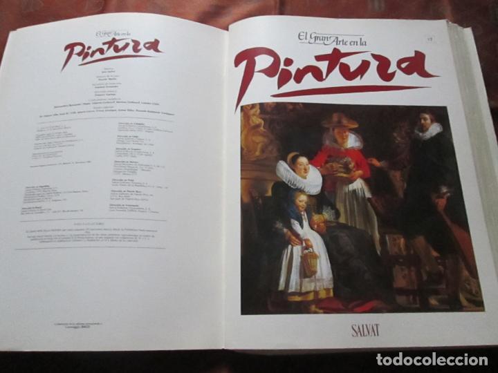 Varios objetos de Arte: lote de más de 60 portadas-el gran arte de la pintura-salvat-ver fotos+descripción. - Foto 15 - 71117669