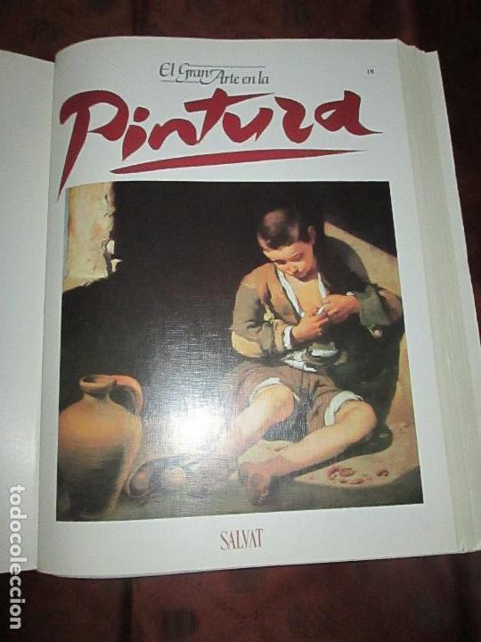 Varios objetos de Arte: lote de más de 60 portadas-el gran arte de la pintura-salvat-ver fotos+descripción. - Foto 18 - 71117669