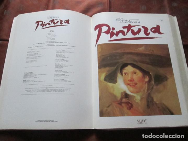 Varios objetos de Arte: lote de más de 60 portadas-el gran arte de la pintura-salvat-ver fotos+descripción. - Foto 25 - 71117669
