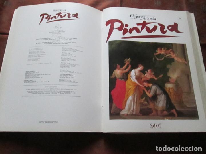 Varios objetos de Arte: lote de más de 60 portadas-el gran arte de la pintura-salvat-ver fotos+descripción. - Foto 26 - 71117669