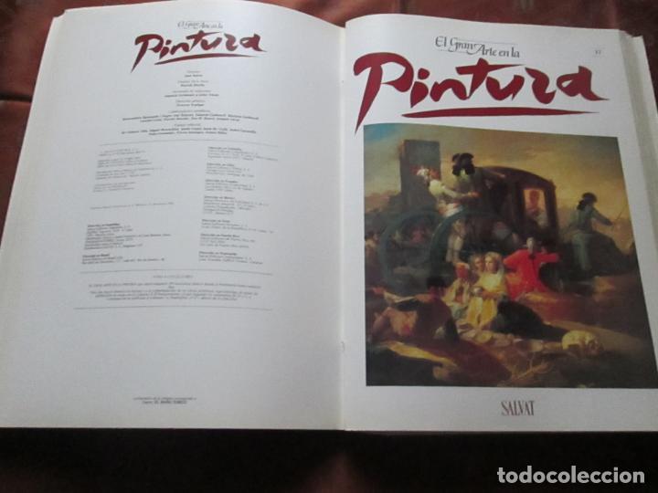 Varios objetos de Arte: lote de más de 60 portadas-el gran arte de la pintura-salvat-ver fotos+descripción. - Foto 29 - 71117669