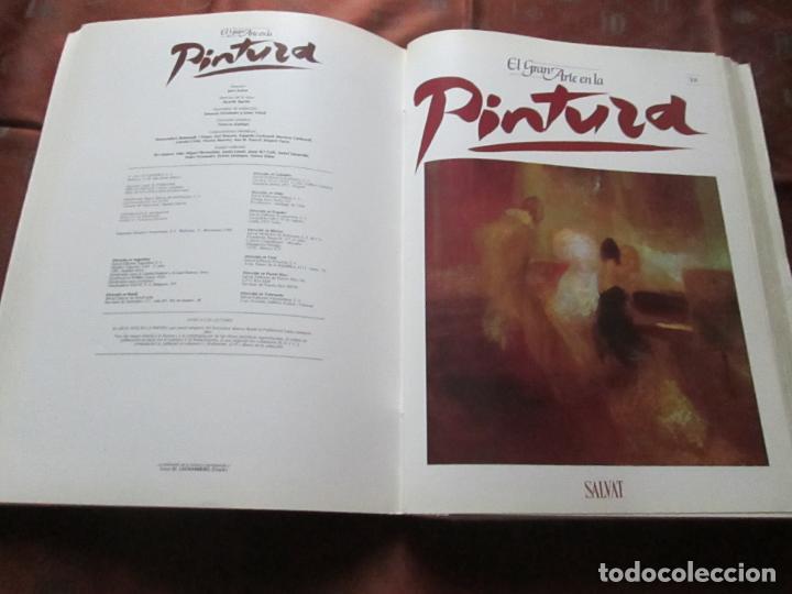Varios objetos de Arte: lote de más de 60 portadas-el gran arte de la pintura-salvat-ver fotos+descripción. - Foto 30 - 71117669