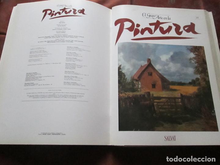 Varios objetos de Arte: lote de más de 60 portadas-el gran arte de la pintura-salvat-ver fotos+descripción. - Foto 31 - 71117669