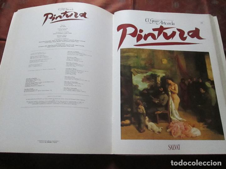 Varios objetos de Arte: lote de más de 60 portadas-el gran arte de la pintura-salvat-ver fotos+descripción. - Foto 34 - 71117669