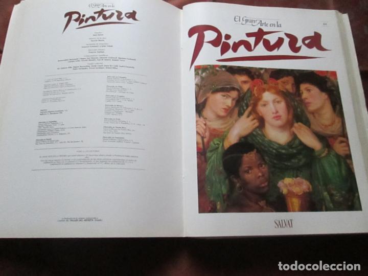 Varios objetos de Arte: lote de más de 60 portadas-el gran arte de la pintura-salvat-ver fotos+descripción. - Foto 35 - 71117669