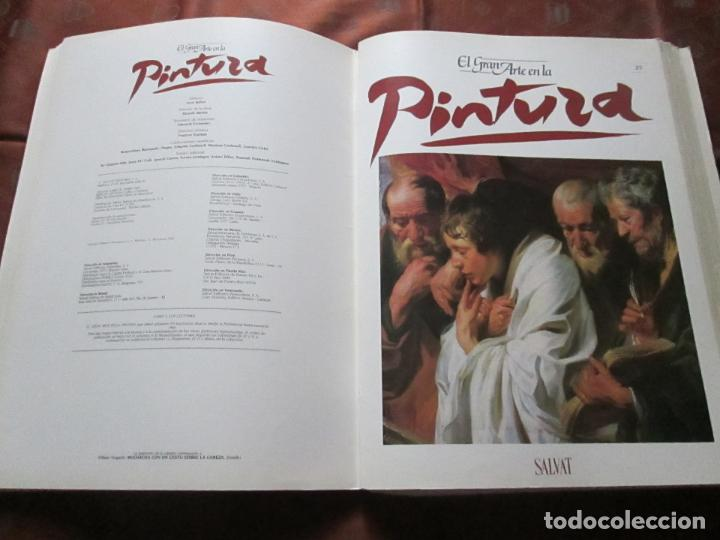 Varios objetos de Arte: lote de más de 60 portadas-el gran arte de la pintura-salvat-ver fotos+descripción. - Foto 38 - 71117669