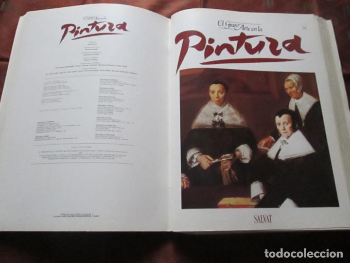 Varios objetos de Arte: lote de más de 60 portadas-el gran arte de la pintura-salvat-ver fotos+descripción. - Foto 39 - 71117669