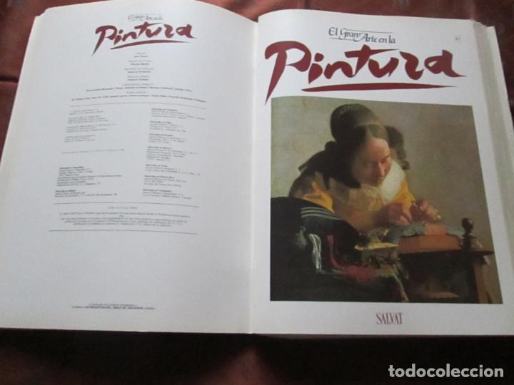 Varios objetos de Arte: lote de más de 60 portadas-el gran arte de la pintura-salvat-ver fotos+descripción. - Foto 40 - 71117669
