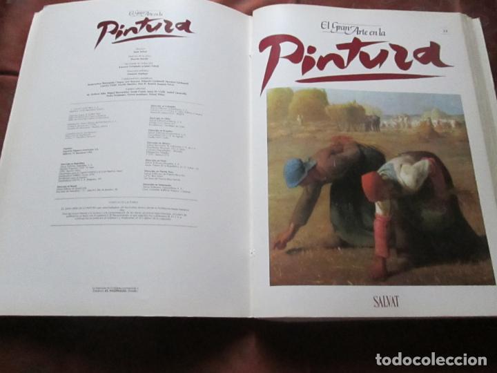 Varios objetos de Arte: lote de más de 60 portadas-el gran arte de la pintura-salvat-ver fotos+descripción. - Foto 42 - 71117669