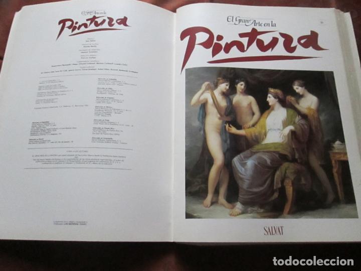 Varios objetos de Arte: lote de más de 60 portadas-el gran arte de la pintura-salvat-ver fotos+descripción. - Foto 43 - 71117669