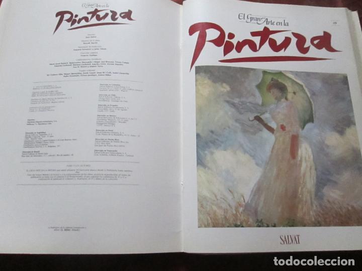 Varios objetos de Arte: lote de más de 60 portadas-el gran arte de la pintura-salvat-ver fotos+descripción. - Foto 44 - 71117669