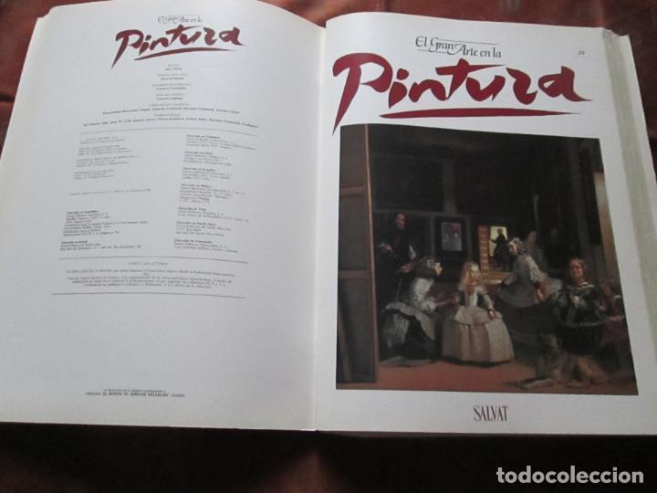 Varios objetos de Arte: lote de más de 60 portadas-el gran arte de la pintura-salvat-ver fotos+descripción. - Foto 47 - 71117669
