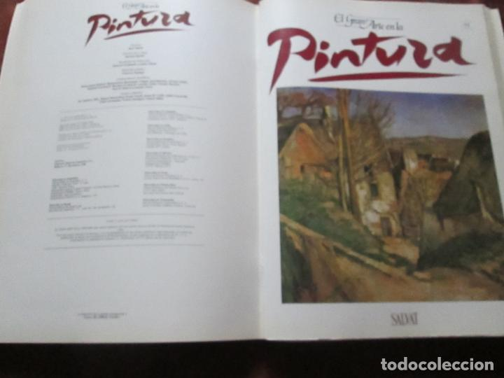 Varios objetos de Arte: lote de más de 60 portadas-el gran arte de la pintura-salvat-ver fotos+descripción. - Foto 49 - 71117669