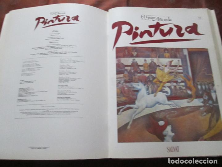 Varios objetos de Arte: lote de más de 60 portadas-el gran arte de la pintura-salvat-ver fotos+descripción. - Foto 50 - 71117669