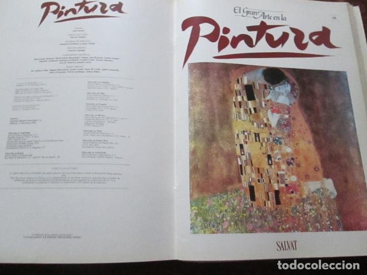 Varios objetos de Arte: lote de más de 60 portadas-el gran arte de la pintura-salvat-ver fotos+descripción. - Foto 51 - 71117669