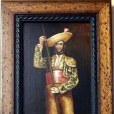 Varios objetos de Arte: ESPECTACULAR LOTE DE 6 TABLAS PINTADAS, MOTIVOS TAURINOS, MEDIDAS 19X31 CMS,VER IMAGENES. Lote 71169233